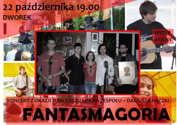 Koncert zespołu Fantasmagoria