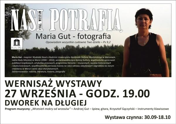 Plakat Maria Gut zm