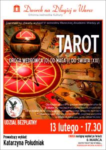 plakat WAW_tarot-droga wedrowca