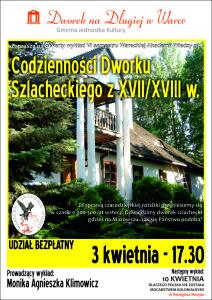 plakat WAW - Dwór Szlachecki