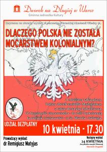 plakat WAW - Polska Mocarstwem