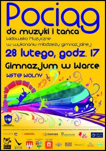 Plakat - Muzyczna Podroz