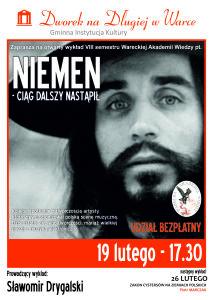 plakat WAW_Niemen 2