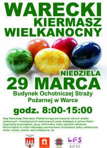 Plakat Kiermasz Wiekanoncy 2015