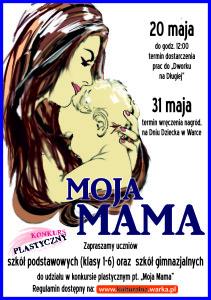 MOJA MAMA - plakat A3