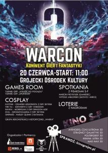 WARCON 2 - plakat