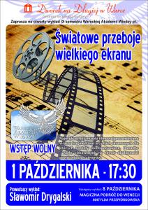 Plakat WAW - Hity z Satelity
