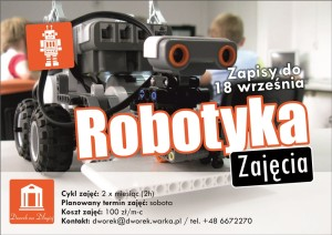 Robotyka - plakat zm