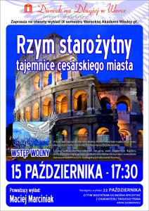 Plakat WAW - Rzym