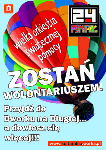 Plakat nr 1 - 24-Finał - Nabór Wolontariuszy_v1