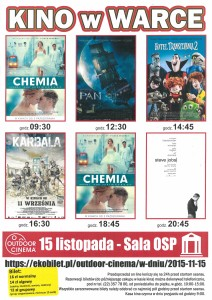 kino 15 listopada