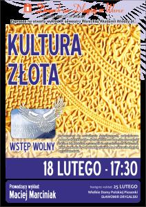 Plakat Kultura Złota