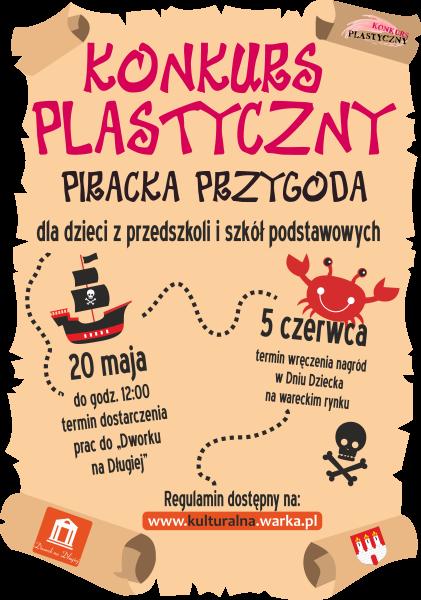 Konkurs Plastyczny Piracka przygoda
