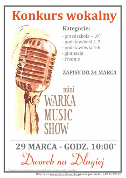 Plakat mWMS - 29 marca 2017