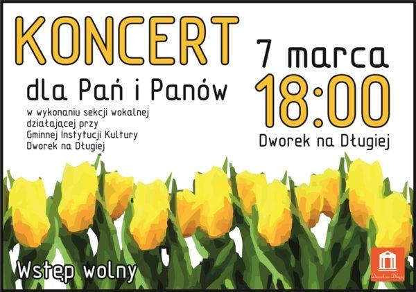 Plakat Koncert Sekcja Wokalna 01 zm