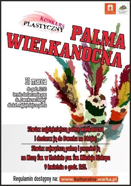 plakat palma wielkanocna2017